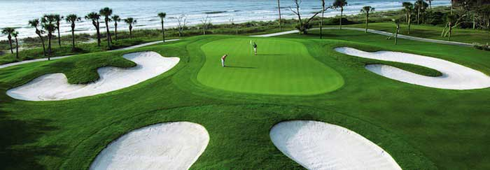 Golfing in Palmetto Dunes of Hilton Head Island, South Carolina